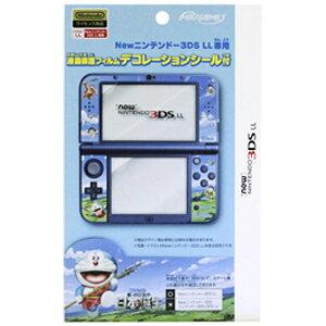 マックスゲームズ Newニンテンドー3DS LL専用液晶保護フィルム デコレーションシール付 …