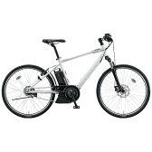 【送料無料】 ブリヂストン 26型 電動アシスト自転車 リアルストリーム(T.フロスティーホワイト/8段変速) RS615【組立商品につき返品不可】 【代金引換配送不可】