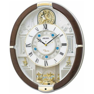 【送料無料】 セイコー 電波からくり時計 「ウェーブシンフォニー」 RE575B