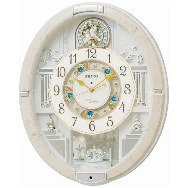 【送料無料】 セイコー 電波からくり時計 「ウェーブシンフォニー」 RE576A