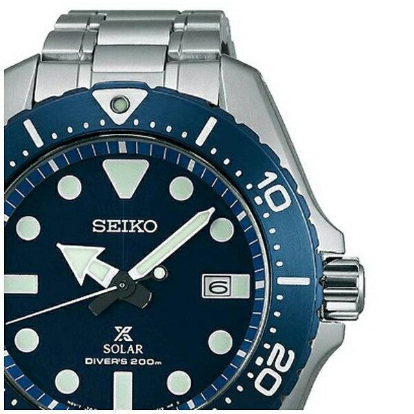 【】 セイコー [ソーラー時計] プロスペックス(PROSPEX) 「チタンダイバーズ200m潜水用防水」 SBDJ011