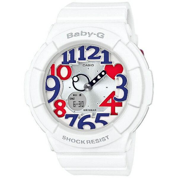 【】 カシオ Baby-G(ベイビージー) 「White Tricolor Series」 BGA-130TR-7BJF