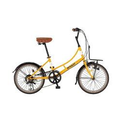 【送料無料】 ルノー 20型 自転車 206L Classic-N(ルノーオレンジ/6段変速) 11557-10【組立商品につき返品】 【配送】