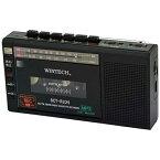 KOHKA 廣華物産 SCT-R225 ラジカセ WINTECH(ウィンテック) ブラック [ワイドFM対応][SCTR225K]