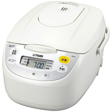 【送料無料】 タイガー TIGER JBH-G101 炊飯器 炊きたて ホワイト [5.5合 /マイコン][JBHG101W] [一人暮らし 単身 単身赴任 新生活 家電]