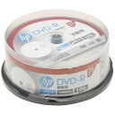 HP ヒューレット・パッカード DR120CHPW25PA 録画用DVD-R [25枚 /4.7GB /インクジェットプリンター対応]