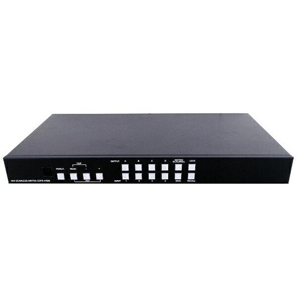 【送料無料】 ハイパーツールズ 4入力4出力HDMIマトリクススイッチ CDP-S44SM