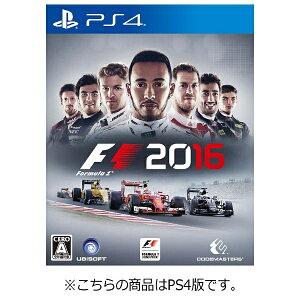 【2016年09月08日発売】 【送料無料】 ユービーアイソフト F1 2016【PS4ゲーム…