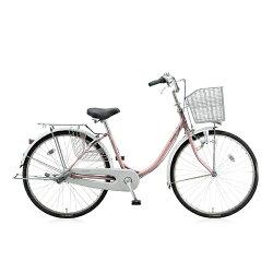 【送料無料】 ブリヂストン 24型 自転車 エブリッジU(M.プレシャスローズ/シングルシフト) EBU40【2016年モデル】【組立商品につき返品】 【配送】