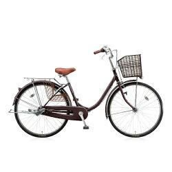 【送料無料】 ブリヂストン BRIDGESTONE 24型 自転車 エブリッジU(F.Xカラメルブラウン/シングルシフト) EBU40T【2016年/点灯虫モデル】【組立商品につき返品】 【配送】
