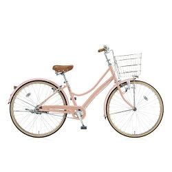 【送料無料】ブリヂストン27型自転車エブリッジL(E.Xアンティークピンク/シングルシフト)EBL70【2016年モデル】【配送】