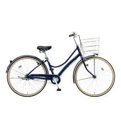 【送料無料】 ブリヂストン BRIDGESTONE 26型 自転車 エブリッジL(E.Xノーブルネイビー/内装3段変速) EBL63T【2016年/点灯虫モデル】【組立商品につき返品】 【配送】
