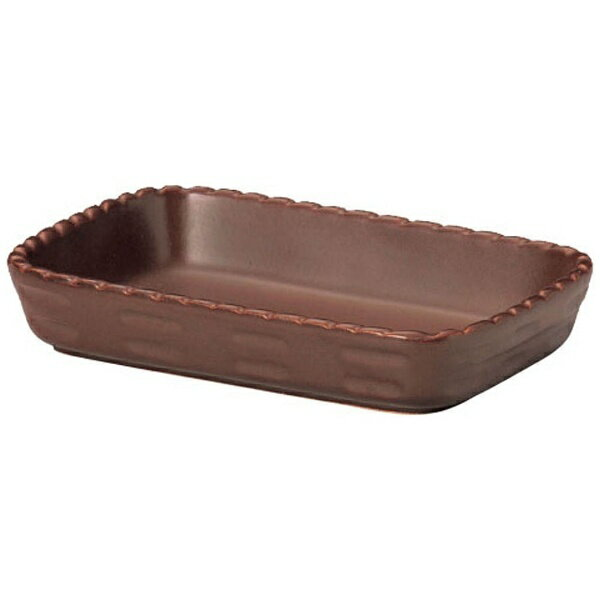 ミヤザキ食器 カンパーニャ 長角ベーカー ブラウン 15cm CP0815(BR) <RCA0301>