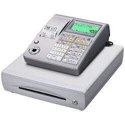 【2016年08月12日発売】【送料無料】カシオ電子レジスターTE-400SRL(シルバー)