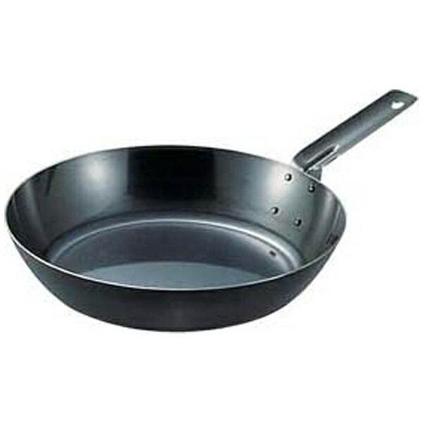遠藤商事 SA鉄黒皮オーブン用厚板フライパン 36cm <AHL94036>