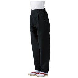 サカノ繊維 SAKANO SENI 男女兼用和風パンツ SLB951-1 ブラック LL <SPV3504>[SPV3504]