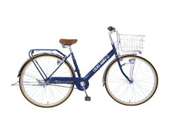 【送料無料】タマコシ27型自転車ルイスアミューズ273HD(ネイビー/内装3段変速)【配送】