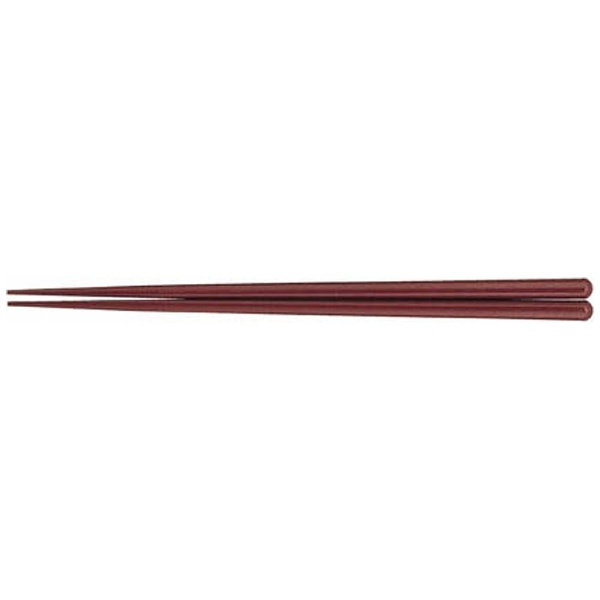 タケヤ化学工業 耐熱箸(50膳入) 23cm エンジ <RHSB404>