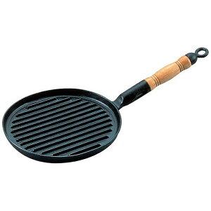 アサヒ ASAHI 《IH対応》 アサヒ 鉄鋳物網焼ステーキパン <AST33>[AST33]