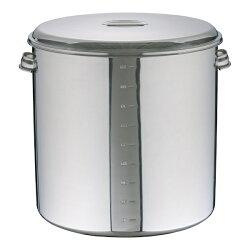 【送料無料】大屋金属モリブデンキッチンポット目盛付手付50cm