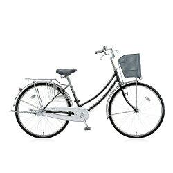 【送料無料】 ブリヂストン 26型 自転車 シティーノW(E.Xブラック/内装3段変速) CTW63T【2016年/点灯虫モデル】【組立商品につき返品】 【配送】