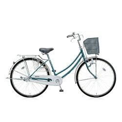 【送料無料】ブリヂストン26型自転車シティーノW(E.Xグリーンアッシュ/シングルシフト)CTW60【2016年モデル】【配送】