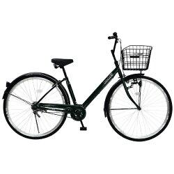 【送料無料】チャクル27型ノーパンク自転車CHACLE(グリーン/シングルシフト)CHP-CC270V【配送】【メーカー直送品・配送・時間指定】