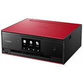 【送料無料】 キヤノン CANON A4インクジェット複合機 [無線LAN/有線LAN/USB2.0] PIXUS TS9030RD (レッド)