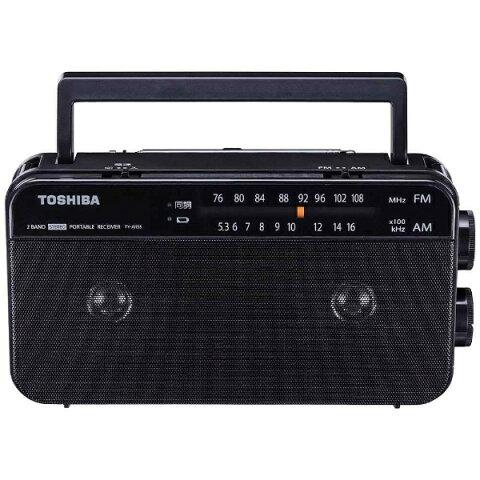 東芝 TOSHIBA ホームラジオ ブラック TY-AR55 [AM/FM /ワイドFM対応][TYAR55K]
