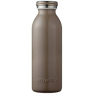 ドウシシャ DOSHISHA ステンレスボトル 「mosh!ボトル」(450ml) DMMB450BR ブラウン