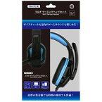 コロンバスサークル 【決算セール】マルチ ゲーミングヘッドセット(PS4/PC用) ブラック【PS4】