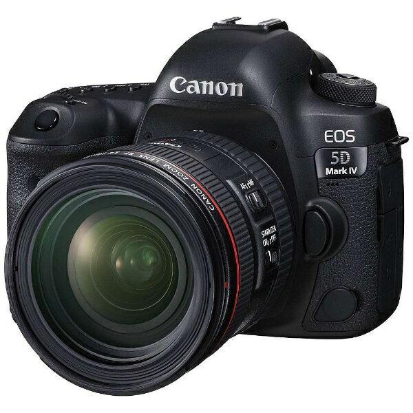 デジタルカメラ, デジタル一眼レフカメラ  CANON EOS 5D Mark IV EF24-70 F4L IS USM EOS5DMK42470ISLK