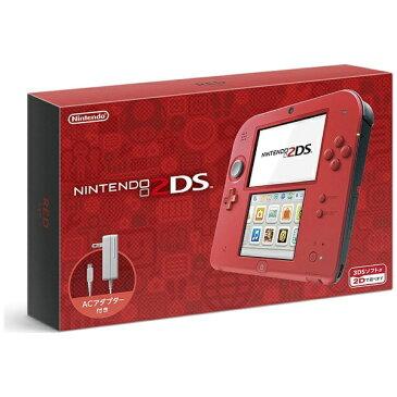 任天堂 Nintendo ニンテンドー2DS レッド [ゲーム機本体][ニンテンドー2DSレッド]