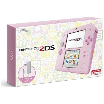 任天堂 Nintendo ニンテンドー2DS ピンク [ゲーム機本体][ニンテンドー2DSピンク]