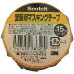 3Mジャパン スリーエムジャパン 3M 塗装用マスキングテープ24mmX18m M40J-24