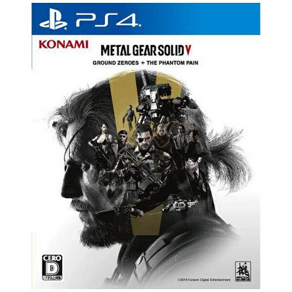 プレイステーション4, ソフト  Konami Digital Entertainment METAL GEAR SOLID V GROUND ZEROES THE PHANTOM PAINPS4