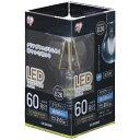アイリスオーヤマ IRIS OHYAMA LED電球 「エコハイルクス」(クリア電球形[全方向タイプ]・全光束810lm/昼白色相当・口金E26) LDA7N-G-FC