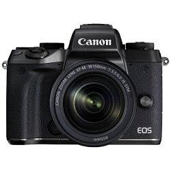 【2016年11月下旬発売】【送料無料】キヤノンEOSM5【EF-M18-150ISSTMレンズキット】(ミラーレス一眼カメラ)