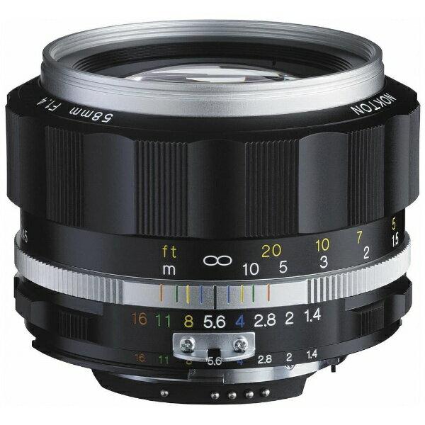 カメラ・ビデオカメラ・光学機器, カメラ用交換レンズ  Voigtlander 58mm F1.4 SL IIS CPUAi-s NOKTON F NOKTON58F14SLIIS