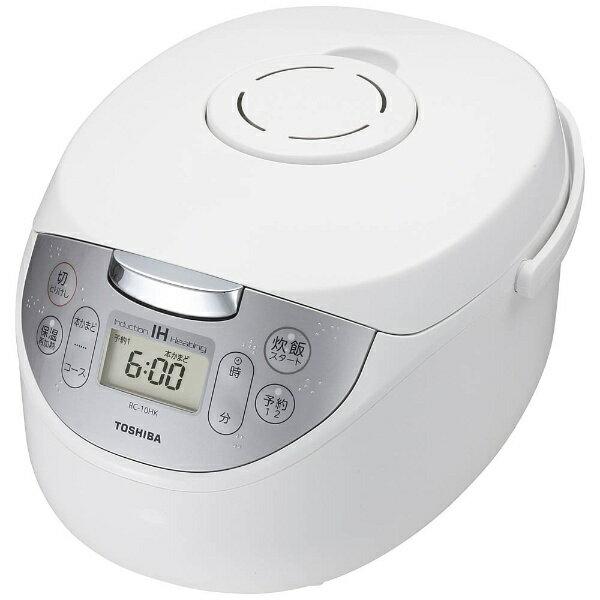 キッチン家電, 炊飯器  TOSHIBA RC-10HK-W IH 5.5RC10HKW