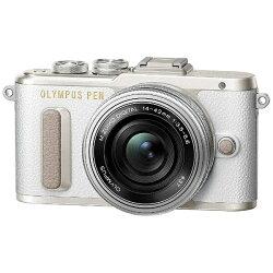 【2016年11月下旬発売】【送料無料】オリンパスPENE-PL814-42mmEZレンズキット(ホワイト/ミラーレス一眼カメラ)