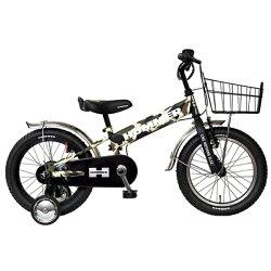 【送料無料】ハマー16型幼児用自転車HUMMERKIDSTANK3.0-SE(カモフラグリーン/シングルシフト)13377-69【代金引換配送不可】