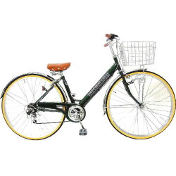 【送料無料】サイモト27型自転車ダカラットHD(グリーン/6段変速)LFV276HDBAA_16【配送】【メーカー直送・・時間指定・返品】