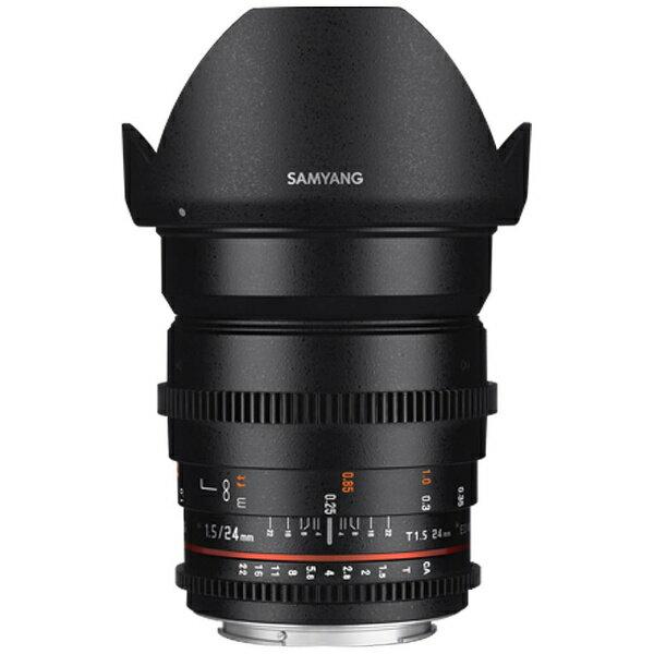 カメラ・ビデオカメラ・光学機器, カメラ用交換レンズ SAMYANG 24mm T1.5 VDSLR ED AS IF UMCII K CINE24MMT152