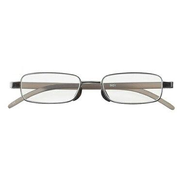 名古屋眼鏡 老眼鏡 ライブラリーコンパクト 5621(ライトガンメタル/+2.50) 5621-25