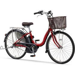 【送料無料】 ヤマハ 26型 電動アシスト自転車 PAS ナチュラXL(リッチレッド/内装3段変速) PA26NXL【2017年モデル】【組立商品につき返品】 【配送】【メーカー直送・・時間指定・返品】