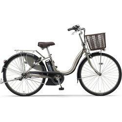 【送料無料】 ヤマハ 24型 電動アシスト自転車 PAS ナチュラXL(アッシュゴールド/内装3段変速) PA24NXL【2017年モデル】【組立商品につき返品】 【配送】【メーカー直送・・時間指定・返品】