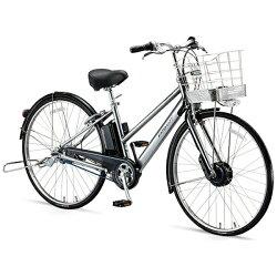 【送料無料】 ブリヂストン BRIDGESTONE 27型 電動アシスト自転車 アルベルトe B400 S型(M.スパークルシルバー/内装5段変速) AS7B47【2017年モデル】【組立商品につき返品】 【配送】