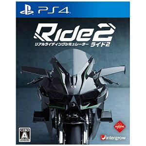 【2017年02月23日発売】 【送料無料】 インターグロー Ride2【PS4ゲームソフト】