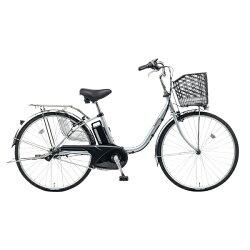 【送料無料】 パナソニック 26型 電動アシスト自転車 ビビ・TX(モダンシルバー/内装3段変速) BE-ELTX632S【2017年モデル】【組立商品につき返品】 【配送】【メーカー直送・・時間指定・返品】